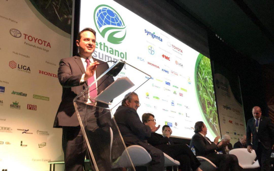 Autoridades reforçam relevância do setor durante abertura do Ethanol Summit