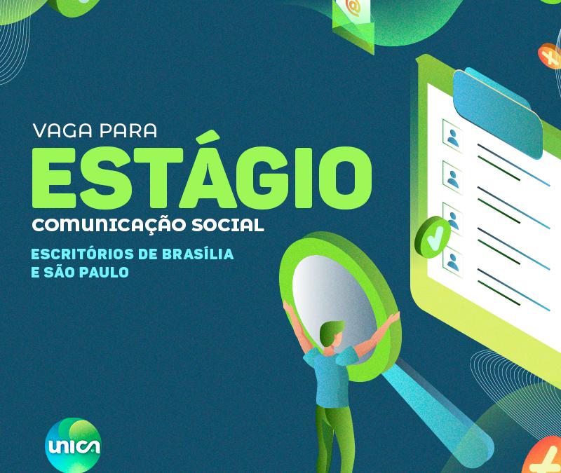 UNICA abre vagas de estágio em comunicação