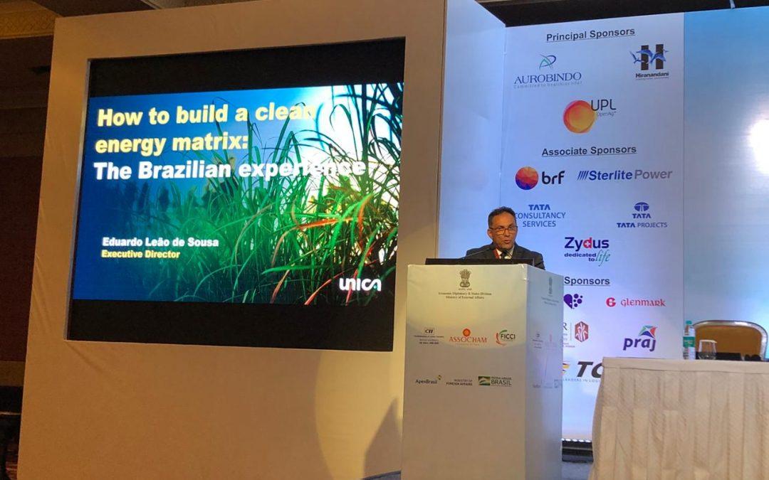 UNICA apresenta na Índia vantagens do etanol como matriz energética limpa