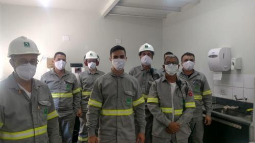 Nardini entrega de máscaras a todos os colaboradores