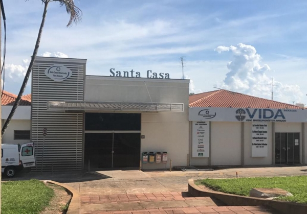 Usina Estiva doa equipamentos para a Santa Casa de Novo Horizonte