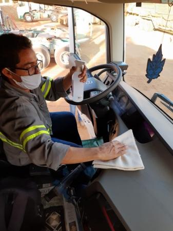 Nardini: Higiene em Caminhões, Máquinas e Equipamentos