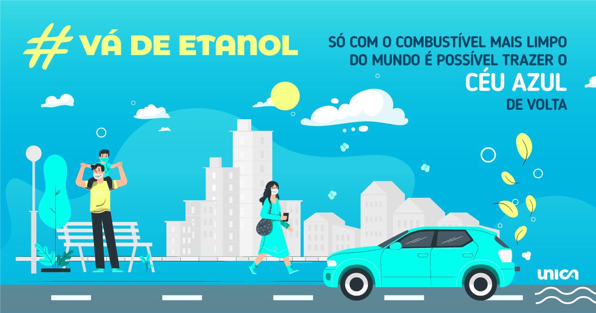 UNICA lança campanha de incentivo ao uso de etanol