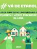 """Card #Vádeetanol """"Ajude A Manter No Campo Milhares De Pequenos E Médios Produtores De Cana"""" Verde Unica"""