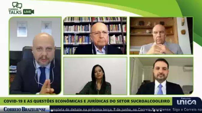 Correio Braziliense debate segurança jurídica no setor sucroenergético