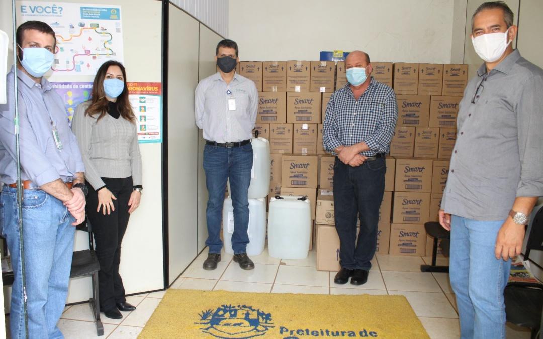 BP Bunge Bioenergia doa à Prefeitura de Santa Juliana itens para combate à Covid-19