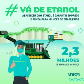 Card #vádeetanol verde UNICA