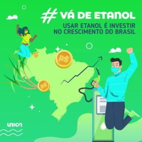 Card verde #vádeetanol UNICA