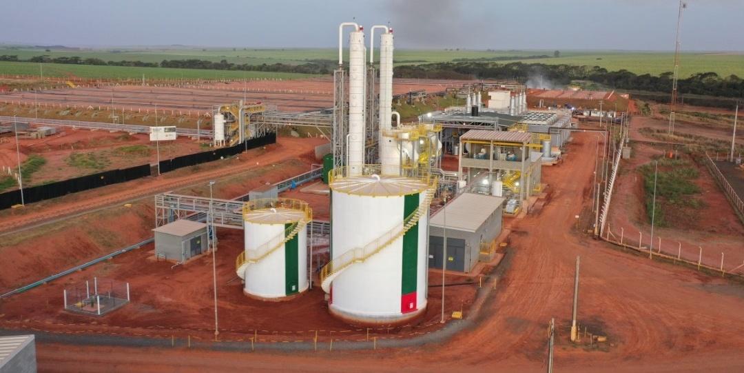 Usinade Biogás da Raízenentra em operação comercial