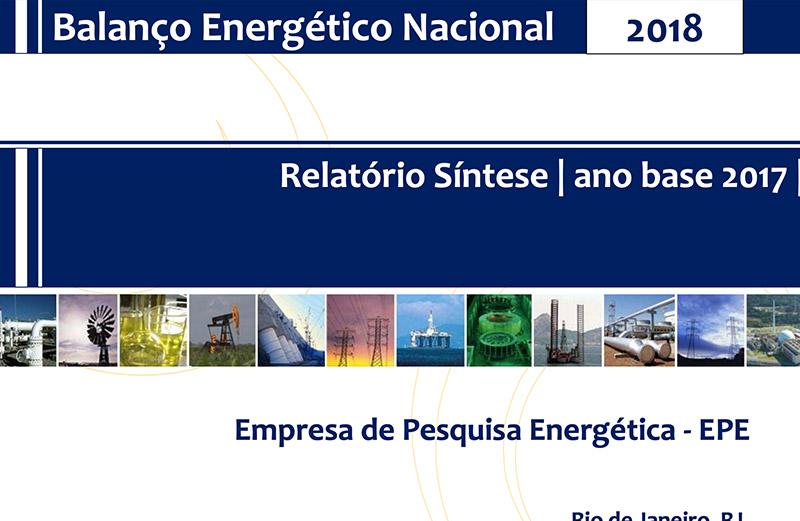 Relatório Síntese do Balanço Energético Nacional 2018