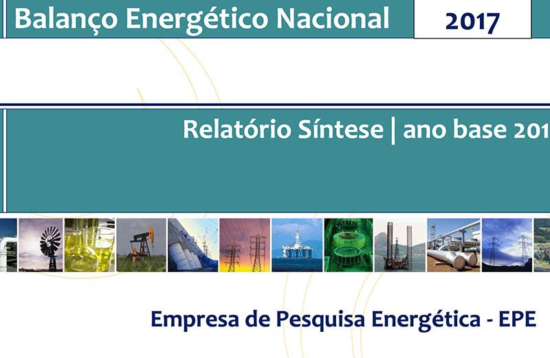 Relatório Síntese do Balanço Energético Nacional 2017