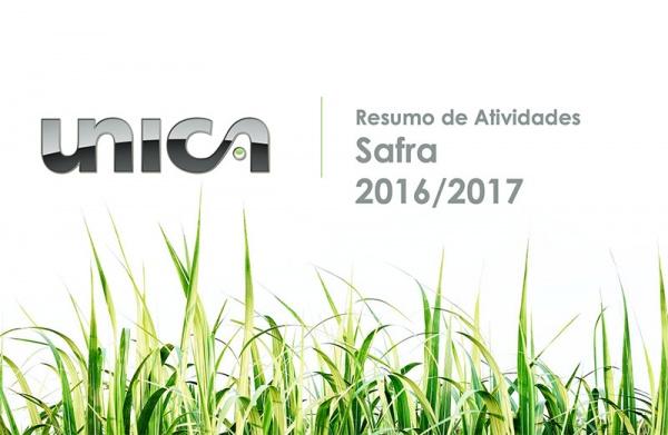 Atividades da UNICA na Safra 2016/2017